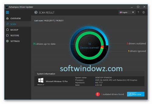 Ashampoo Driver Updater 1.5.0.0 Crack With Serial Key Download 2021