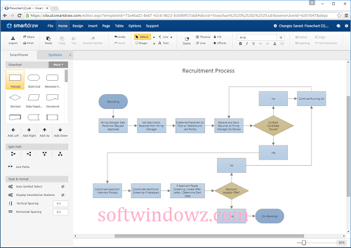 SmartDraw 27.0.0.2 Crack With Serial Key Free Download 2021